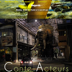 Conte-Acteurs est un évènement inscrit dans le bicentenaire du canal de Nantes à Brest. La direction artistique est signée La Fabrique des Images.