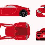 6 voitures sportives ont été sélectionnées pour former la car 4 kilian destinée à un enfant du centre de kerpape