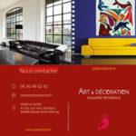 Plaquette en couleur Art & Décoration nouvelle tendance.