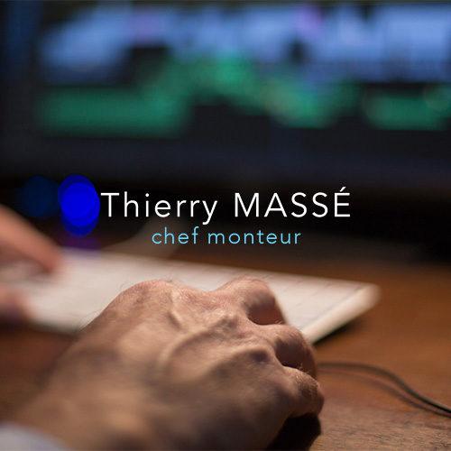 Accueil site Internet Thierry Massé chef monteur.