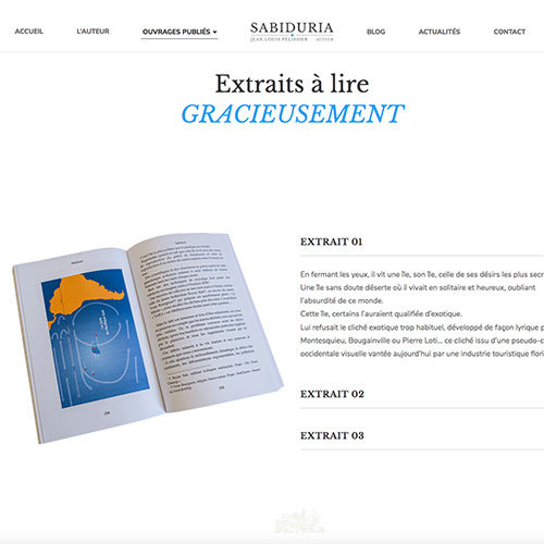 Extraits du livre Sabiduria à lire gracieusement.