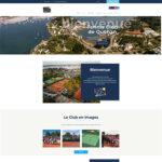 Accueil site Internet du Tennis Club de Quehan.
